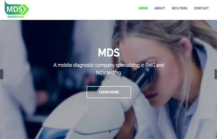 Image of MDS ChicagoLand Home Page