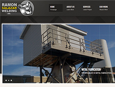 Image of Salazr Welding Home Page